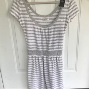 NWT  Abercrombie & Fitch    Stripped Romper